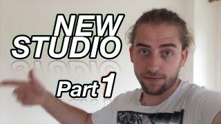 NEW STUDIO!!! part 1 | House Tour, Room Choice