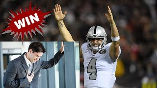 Heart Attacks and Raiders Offense! 10 Notes and Observations vs the Chiefs