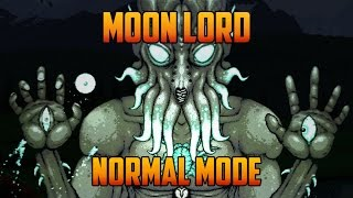 Terraria - Moon Lord Boss, Melee on Normal Mode (1.3.0.2)