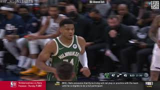 Giannis Antetokounmpo  21 PTS 6 REB: All Possessions (2021-10-13)