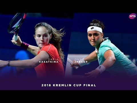 Daria Kasatkina vs. Ons Jabeur | 2018 Kremlin Cup Final | WTA Highlights Кубок Кремля