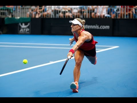 2018 Apia International Sydney Day 1 | Shot of the Day | Angelique Kerber