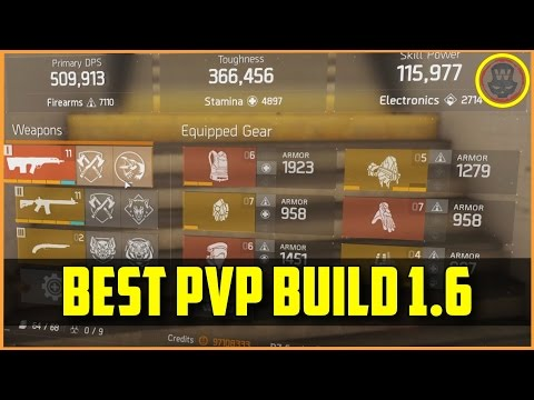 The Division - Best PVP Build 1.6 + gameplay