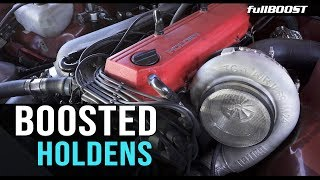 BOOSTED Holdens @ Holden Nationals 2019 | fullBOOST