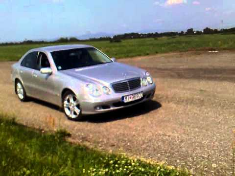 Mercedes Benz E270 low drifting