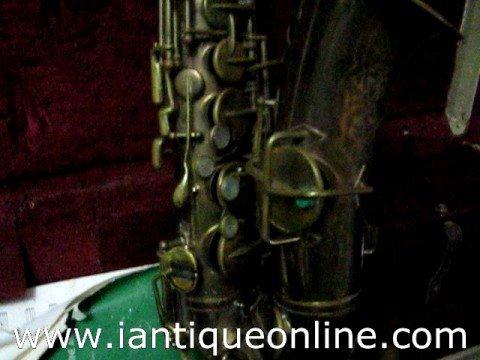 Musical Instruments Buescher Saxophone
