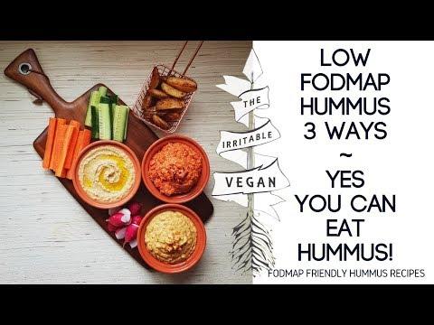 Low FODMAP Hummus 3 Ways / Can You Eat Hummus on a Low FODMAP Diet? / FODMAP Friendly Hummus Recipes