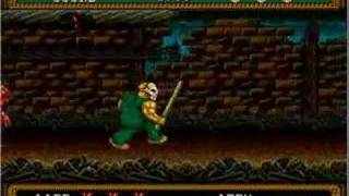 Splatterhouse 2 Level 1
