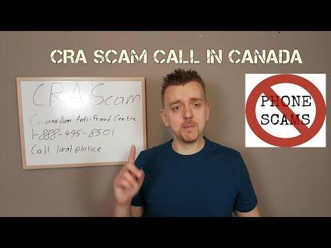 CRA Scam Calls In Canada