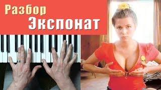 Ленинград Экспонат (На лабутенах) - разбор на пианино  кавер - Уроки фортепиано