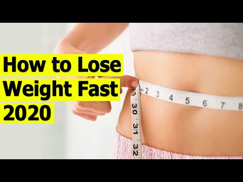 How to Lose Weight Fast 2020 | 6 Easy Ways to Lose Weight Fast in 2020 | Lose Weight FAST