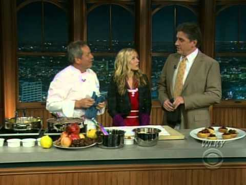 Late Late Show with Craig Ferguson 12/26/2008 Kristen Bell, Wolfgang Puck