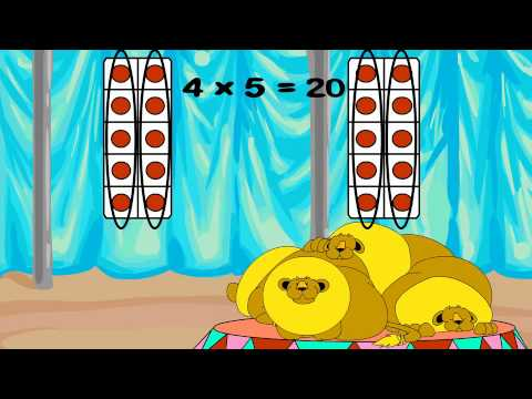 Times Tables: Multiply with 4, Use the Doubles Strategy - YouTube