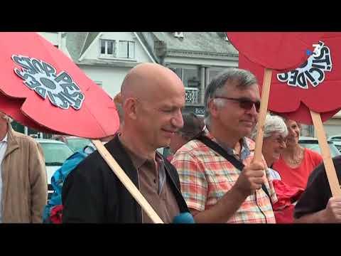 Pesticides: la caravane des coquelicots - - France 3 Bretagne