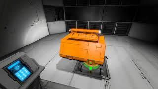 Space Engineers [21:9] hidden  Weaponmodul
