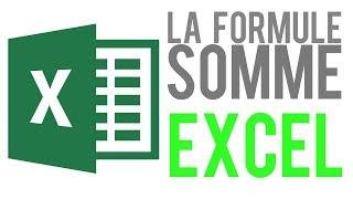 EXCEL - FORMULE SOMME