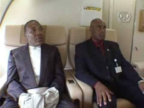 Charles Taylor Departs Sierra Leone