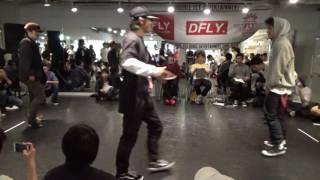 11/26 踊りなはぁれ Break 2on2 battle.