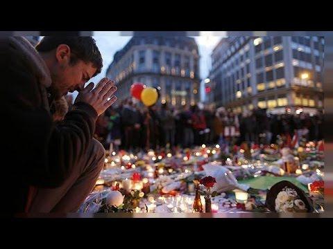 Belgium remembers - anniversary of Brussels bomb attacks