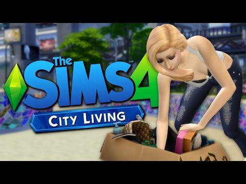 EXPLORING SAN MYSHUNO - Sims 4 City Living  Gameplay - The Sims 4 Funny Highlights #92