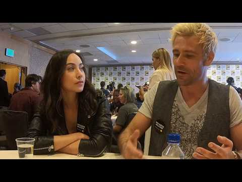 Courtney Ford & Matt Ryan  for DC's Legends of Tomorrow at ComicCon