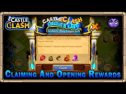 Castle Clash | Clasher's Day Gifts | Lv9 Talent Runes And Much More!