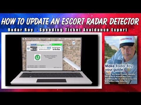 How to Update an Escort Radar Detector