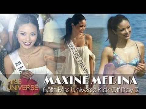 MAXINE MEDINA    65th Miss Universe Kick Off Day 2    Miss Universe 2016