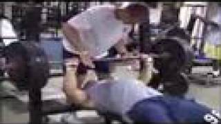 Georgia Tech football preseason 2007 workout video