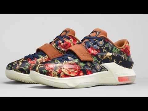 "innovative design 8578d 1075a Nike KD 7 EXT ""Floral"" + Release date"