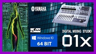 [GUIDE] Installing Yamaha 01X drivers and software in Windows 10 x64
