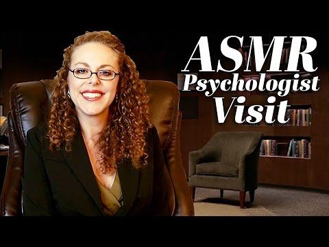 ASMR Role Play: Psychologist Visit, Soft Spoken, Paper & Writing Sounds, Anxiety & Esteem