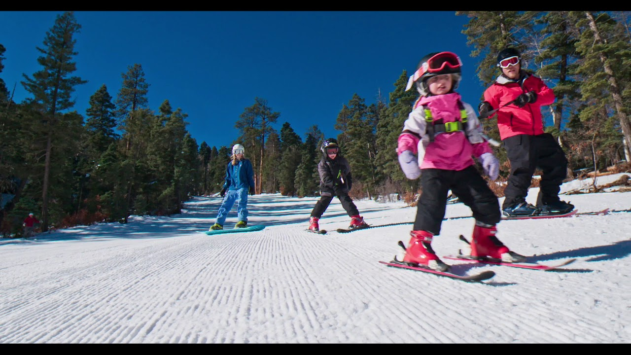 Ski New Mexico Nm Ski Resorts Map on