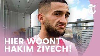 Kijkje in luxe woning Ajax-ster Hakim Ziyech - BEKENDE HUIZEN #05