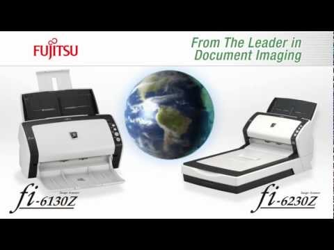 تعريف سكانر fujitsu fi-6130z