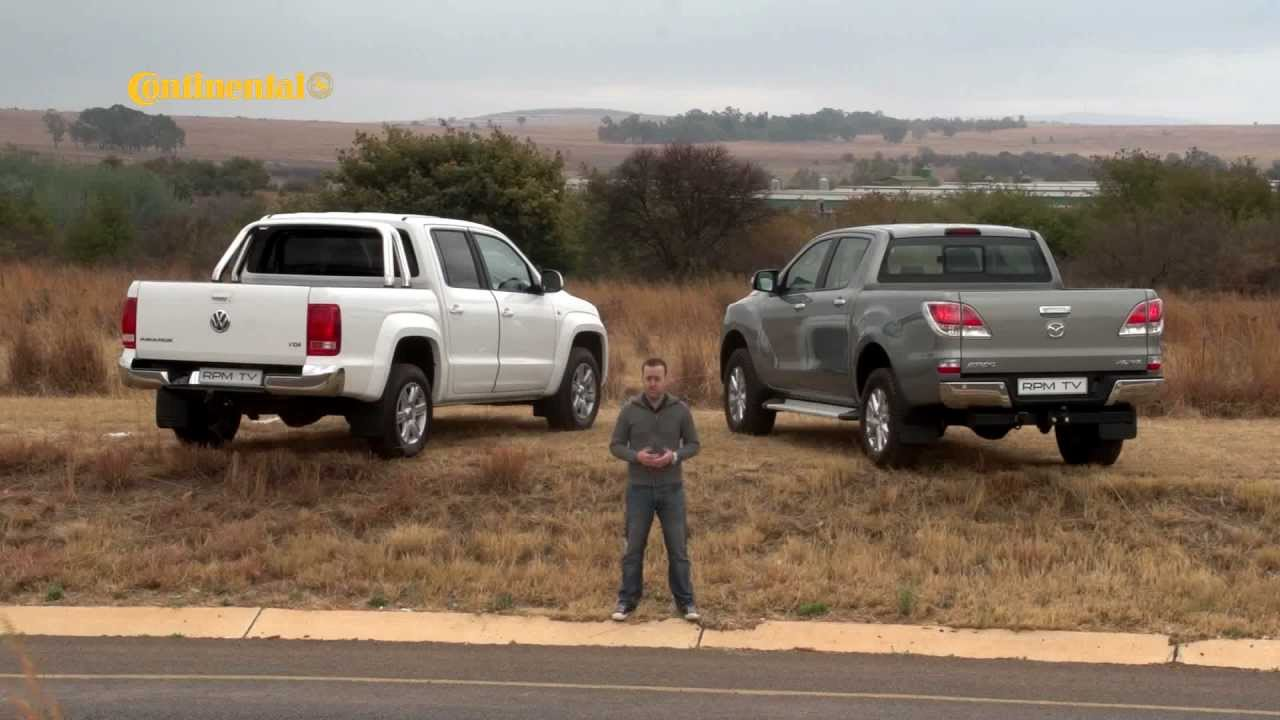 RPM TV - Episode 217 - Mazda BT-50 vs VW Amarok - YouTube