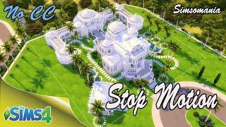 The Sims 4 ♥ Резиденция звезды ♥ Star Residence ♥ No CC/Stop Motion