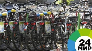В Душанбе любители велоспорта устроили массовый заезд - МИР 24