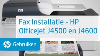 Fax Installatie - HP Officejet…