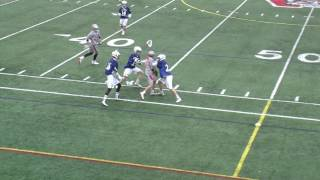 Acton Boxborough Boys Varsity Lacrosse @ Wakefield 4/22/17