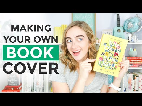 How To Design A Stunning BOOK COVER 😍