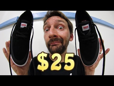 THE CHEAPEST SKATE SHOES ON THE INTERNET?!   100 KICKFLIP TEST!
