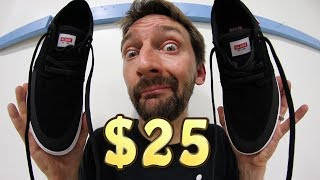 THE CHEAPEST SKATE SHOES ON THE INTERNET?! | 100 KICKFLIP TEST!