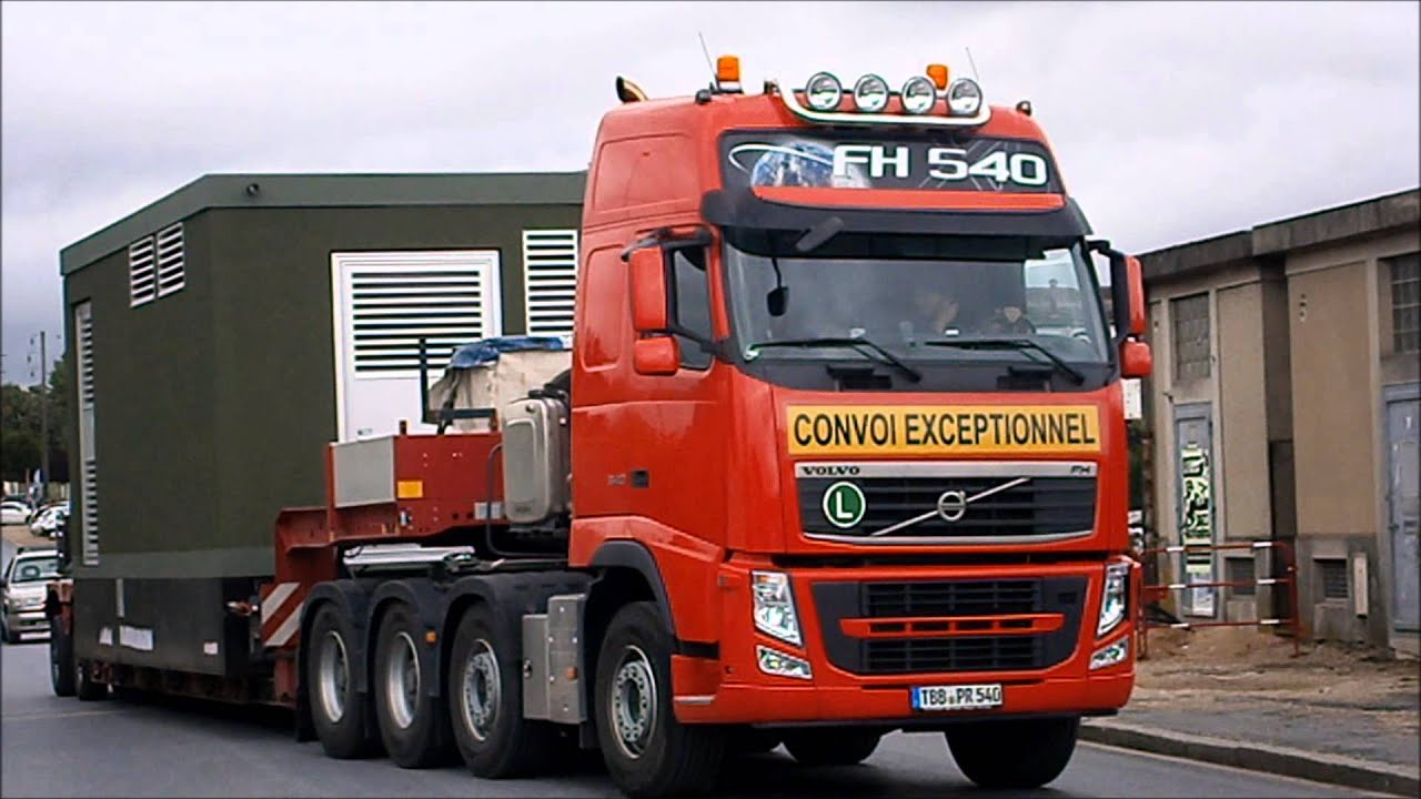 camions convoi poids lourds volvo fh youtube. Black Bedroom Furniture Sets. Home Design Ideas