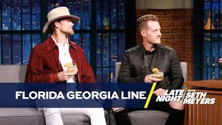 Florida Georgia Line Brings Seth Their Peach Pecan Whiskey