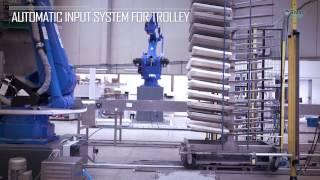 Video: Robot desmoldeo de bandejas - Robotic solution for unmold and grind