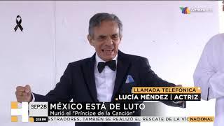 Lucía Méndez recuerda a José José