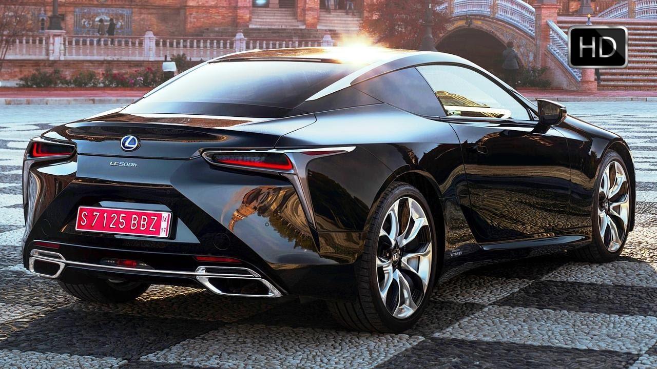 2018 Lexus Lc 500h Hybrid Coupe Extertior Interior Design Road