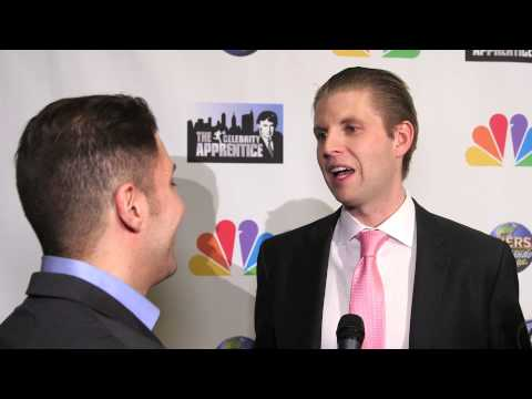 "Eric Trump at the ""Celebrity Apprentice"" Season 7 Finale with BTVRtv"