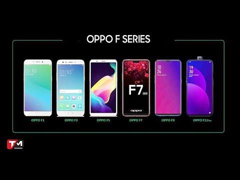 """Oppo F-Series - Dòng điện Thoại Tầm Trung """"đáng Gờm"""""""